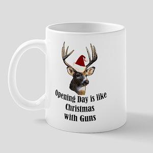 Opening day is like christmas Mug