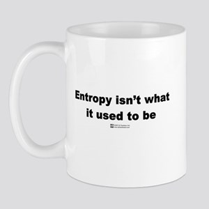 Entropy isn't what is used to Mug