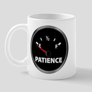 Out of Patience Fuel Gauge Mug