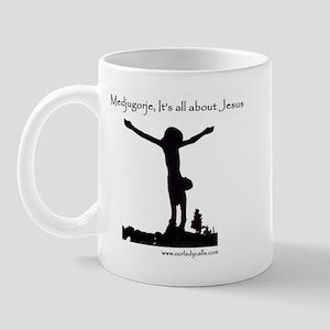 It's All About Jesus Mug