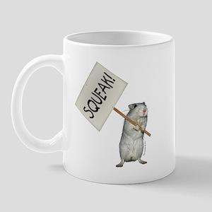 Protesting Gerbil Mug
