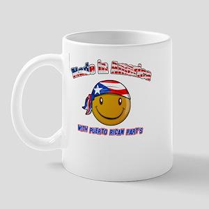 Puerto rican and American Mug
