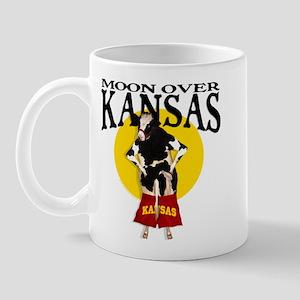 Moon Over Kansas! Mug