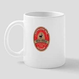 Mesa Verde National Park (bottle label) Mug