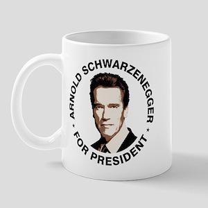 Arnold For President Mug