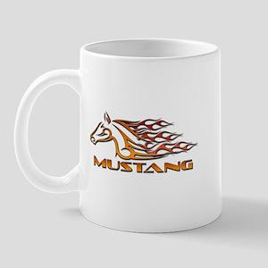 Mustang Tribal Mug