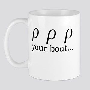 Rho Your Boat Mug