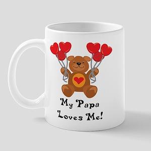 My Papa Loves Me! Mug