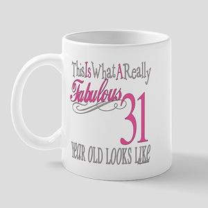 31st Birthday Gifts Mug