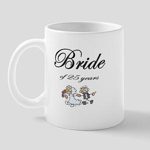 25th Wedding Anniversary Gifts Mug