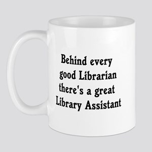 Library Assistant Mug