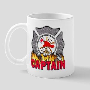 Fire Department Captain Mug