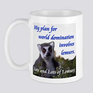 Domination Lemurs Mug