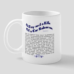 A DAY AND LIFE OF A CAR SALESMAN Mug