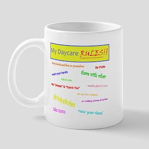 My Daycare Rules Mug