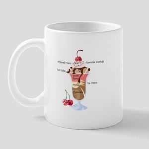 Anatomy of a sundae Mug
