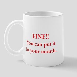 Oral pleasure Mug
