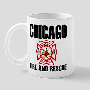 Chicago Fire Department Mug