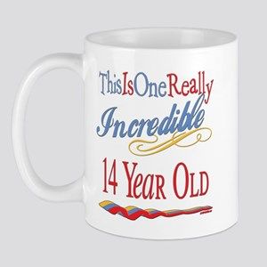 Incredible At 14 Mug