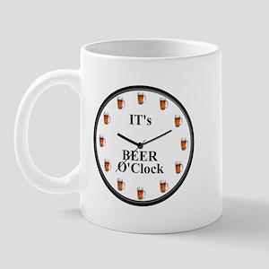 Its Beer O'Clock Mug