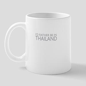 I'd rather be in Thailand Mug