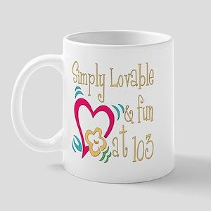 Lovable 103rd Mug