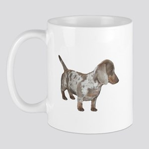 Speckled Dachshund Dog Mug