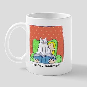 Cat Duty: Bookmark Mug