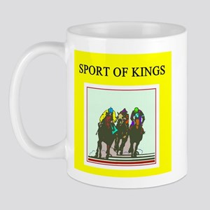 thoroughbred racing horse Mug