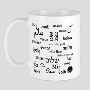 Peace Everywhere! Mug