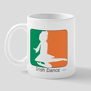 Irish Dance Tricolor Girl Mug