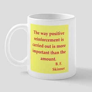 b f skinner quotes Mug