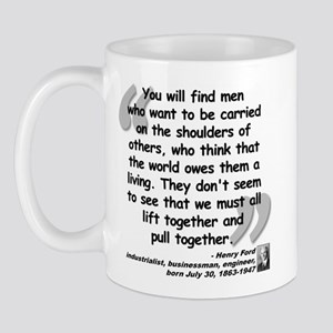 Ford Together Quote Mug