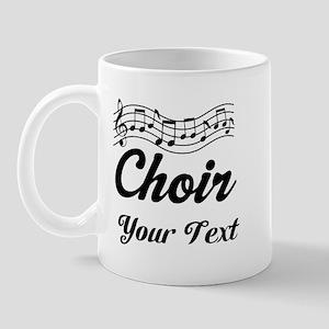 Custom Choir Musical Mug
