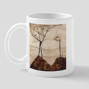 Egon Schiele Autumn Sun And Trees Mug