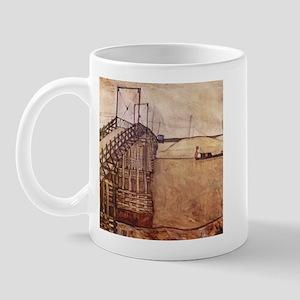 Egon Schiele The Bridge Mug