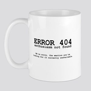 404 Enthusiasm Mug