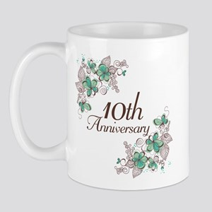 10th Anniversary Keepsake Mug