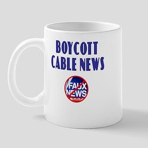 Boycott Cable News Mug