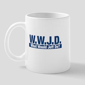 WWJD What Would Jeff Do? Mug