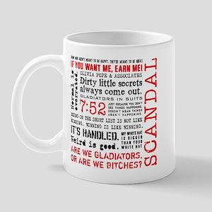 Scandal Quotes Mug