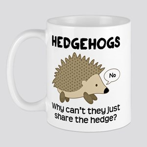 Hedgehog Pun Mug