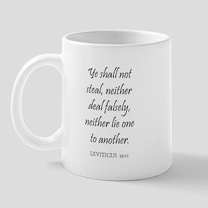 LEVITICUS  19:11 Mug
