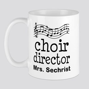 Personalized Choir Director Mugs