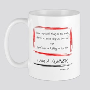 I am a runner slogan #2 Mug