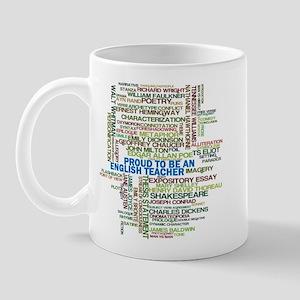 Proud English Teacher Mug