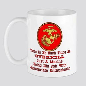 Just A Marine Doing His Job Mug