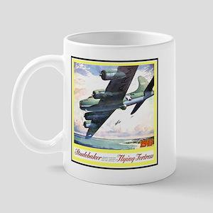 """Flying Fortress Engines Ad"" Mug"