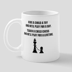Teach a child chess (Mug)