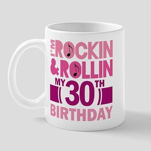30th Birthday rock and roll Mug